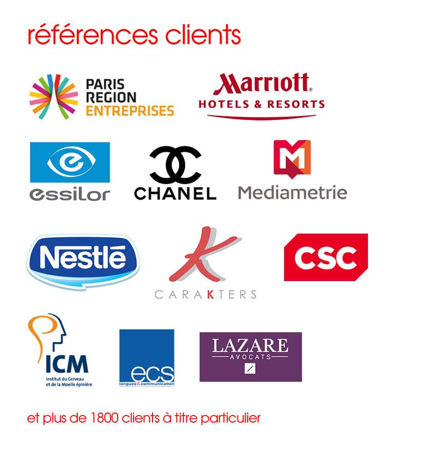 Les clients et références de WINE FICTIONS